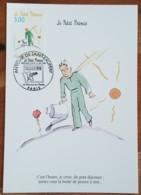 CM 1998 - YT N°3179 - ANTOINE DE SAINT EXUPERY / LE PETIT PRINCE - PARIS - Maximum Cards