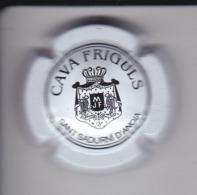 PLACA DE CAVA FRIGULS  (CAPSULE) COLOR BLANCO - Placas De Cava