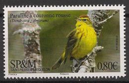 SPM - 2018 - N°Yv. 1197 - Oiseau / Bird / Paruline - Neuf Luxe ** / MNH / Postfrisch - Non Classés