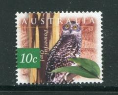 AUSTRALIE- Y&T N°1531- Oblitéré (chouettes) - 1990-99 Elizabeth II