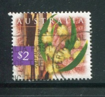 AUSTRALIE- Y&T N°1532- Oblitéré (fleurs) - 1990-99 Elizabeth II