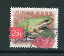 AUSTRALIE- Y&T N°1589- Oblitéré (grenouilles) - 1990-99 Elizabeth II