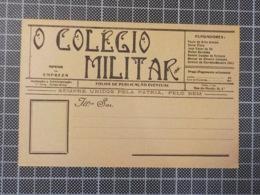 11.872) Portugal O Colégio Militar (publicação Da Instituição) Bilhete Postal Não Circulado - Portogallo