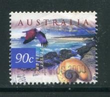 AUSTRALIE- Y&T N°1759- Oblitéré (oiseaux) - 1990-99 Elizabeth II