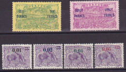 Guyane N° 91 à 94 ** + 95 & 96 Neuf * - Voir Verso & Descriptif - Neufs