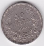 Bulgarie. 50 Leva 1940 A, Boris III, KM# 48 - Bulgarie