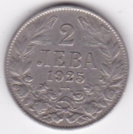 Bulgarie . 2 Leva 1925 Poissy, KM# 38 - Bulgaria