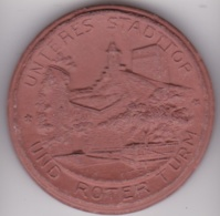 Médaille En Porcelaine Bad Wimpfen Am Neckar. - Allemagne