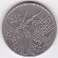 Banque Des Etats De L'Afrique Centrale. 500 Francs 1976 B Republique Centrafricaine - Centrafricaine (République)