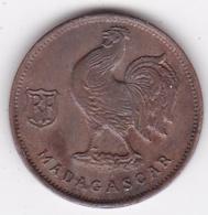MADAGASCAR. FRANCE LIBRE. 50 Centimes 1943. BRONZE - Madagaskar