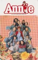 Télécarte Japon / 110-014 - Film Cinéma MUSICAL - ANNIE - Japan Movie Phonecard - KINO Telefonkarte - 11736 - Cinema