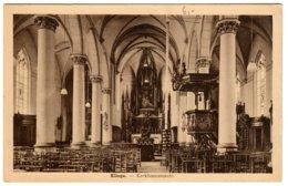 KLINGE - Kerkbinnenzicht - Sint-Gillis-Waas