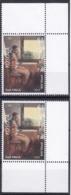 Kosovo 2019 Visual Arts Painter Esat Valla Paintings Definitive Stamp MNH - Kosovo