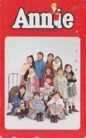 Télécarte Japon / 110-016 - Film Cinéma MUSICAL - ANNIE - Japan Movie Phonecard - Kino Telefonkarte - 11738 - Cinema