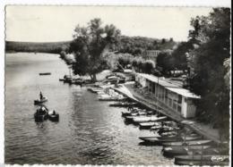 SAMOREAU - VULAINES-sur-SEINE, Hôtel Du Pont De Valvin. La Seine Et Les Barques. Cim 13, Cpsm GF - France