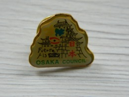 Pin's Scout - Future Is Now - OSAKA COUNCIL - Boy Scout - Scoutisme - Scouts - Pfadfinder - BADEN POWELL - Associations