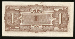* Netherlands India 1 Gulden 1942 Japanese Occupation !  UNC ! - Banconote