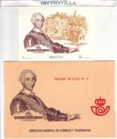 PRUEBA OFICIAL 17, CARLOS III,  CATALOGO 63,00 € - Blocs & Hojas