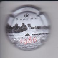 PLACA DE CAVA RAVENTOS I BLANC 1986 NUMEROS GRANDES (CAPSULE) Viader: 7894 - Placas De Cava