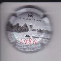 PLACA DE CAVA RAVENTOS I BLANC 1986 NUMEROS PEQUEÑOS (CAPSULE) Viader: 7895 - Placas De Cava