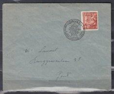 Brief Van Orval Naar Gent - Belgique