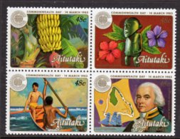 AITUTAKI - 1983 COMMONWEALTH DAY SET (4V) FINE MNH ** SG 430-433 - Aitutaki