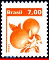 Ref. BR-1662 BRAZIL 1981 FRUITS, ECONOMIC RESOURCES,, ORANGES, MNH 1V Sc# 1662 - Ungebraucht
