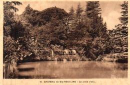 CP 83 Var Château De Ste Roseline Pièce D'eau La 10 - Les Arcs