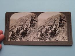 RUSSIANS ATTACKING ( 14 ) 18686 ( Stereo Photo / KEYSTONE ) ! - Stereoscoop