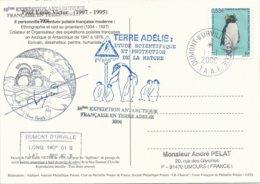 TAAF - Dumont D'Urville-T.Adélie: Carte Illustrée PE Victor Avec Timbre N°450 Gorfou Sauteur - 01/01/2006 - Franse Zuidelijke En Antarctische Gebieden (TAAF)