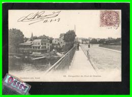 DEUX C.P.A.CHATOU - La Maison Fournaise Et Le Pont De Châtou (rectos Versos) - Chatou