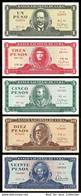 * Cuba 1 3 5 10 20  Pesos 1983 - 1988 ! UNC ! Set 5 Notes - Cuba