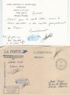 TAAF - Dumont D'Urville-T.Adélie: Enveloppe De Service La Poste - 01/01/2006 (+ Courrier Du Gérant Postal) - Franse Zuidelijke En Antarctische Gebieden (TAAF)