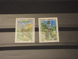 POLYNESIE - 1995 UCCELLI 2 VALORI - NUOVI(++) - Nuovi