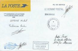 TAAF - Dumont D'Urville-T.Adélie: Enveloppe De Service La Poste - 01/01/2006 - Franse Zuidelijke En Antarctische Gebieden (TAAF)