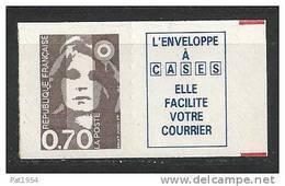 France  Timbre Adhésif Neuf ** Issu De Carnet Avec Vignette N° 2873a  Cote 13 Euros - Unused Stamps