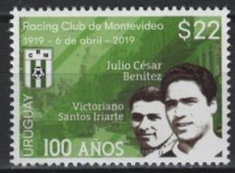 Uruguay (2019) - Set -  /  Soccer - Futbol - Calcio - Football - Racing - Famous Clubs