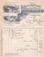 3848107       P.PERRAS & CIE, Appareils Agricoles Et Viticoles Facture+mandat  21-05-1912 - Frankrijk