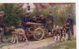 Attelages De Chiens - En Guerre : Mitrailleuses Belges - Other