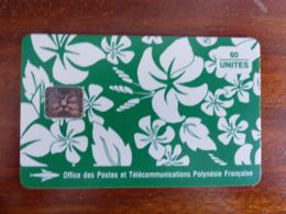 """PF18 Polynésie Française - SC5 ISO - 6mm - Paréo Vert - TBE Et 2 """"0"""" à L'envers - Französisch-Polynesien"""