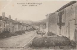 DOMMARTIN - Une Rue De Dommartin. Environs De Toul Pittoresque. Tas De Fumier Devant Les Maisons. - Otros Municipios