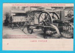 CPA WAREMME - Ets. Doyen & Fils à L'Expo De Bruxelles 8 Au 18 Mars 1913 : Locomobile CIMA 12 HP - 2 Scans - Waremme