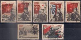 Russia 1938, Michel Nr 588-94, Used - 1923-1991 USSR