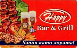BULGARIA. HAPPY, BEER - CERVEZA - BIER, 01/02, MOB-P-0060. (215). - Bulgarie