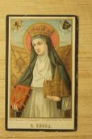 Begijn Doodsprentje Begga De Decker + 1907 Groot Begijnhof Gent Kleur - Religion & Esotérisme