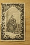 Begijn Doodsprentje +1858 Begijnhof Mechelen De Keersmaecker - Religion &  Esoterik