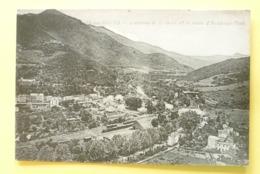 V10-66-pyrenees Orientales--amelie Les Bains-avenue De La Gare Et Route D'arles Sur Tech--gare- - Sonstige Gemeinden