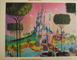 En 1105a Disney Land Le Château Puzzle - TBE - 50 Unités