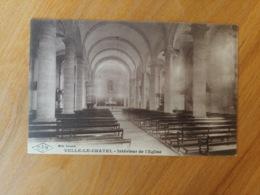Velle Le Chatel Intérieur De L'église  Haute Saône Franche Comté - Frankrijk