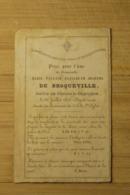 Aalst Gijzegem Kasteel + 1853 De Broqueville , Echtgenote Robiano - Religion &  Esoterik